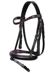 Harry's Horse Bridle Diva Purple