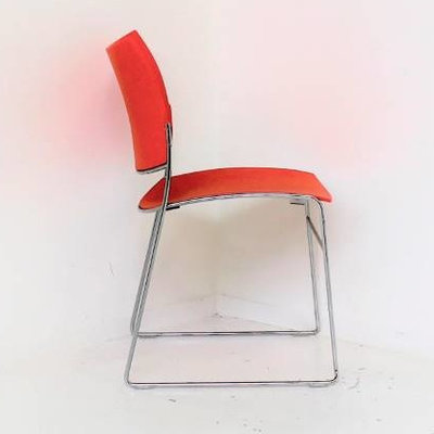Casala Curvy Design Vergaderstoel Oranje