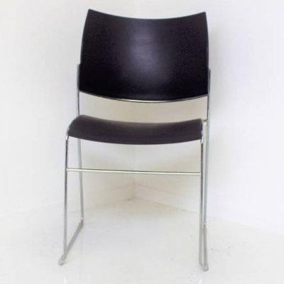 Casala Curvy Design Vergaderstoel Zwart