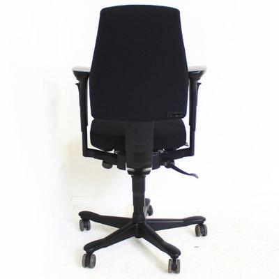 Kinnarps Freefloat 6000 Bureaustoel Zwart Nieuwe Stof 3D Gel Armlegger