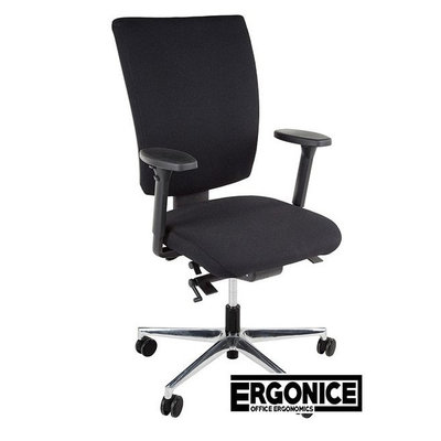Ergonice Ergo NPR1813 Bureaustoel Zwart