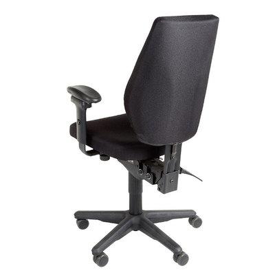 MN Freefloat Bureaustoel Zwart