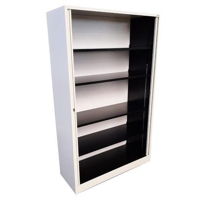 Ahrend Roldeurkast Wit Kunststof Deuren H195xB120xD45