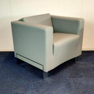 BN Office Solutions Studio Design Fauteuil Grijs Chroom