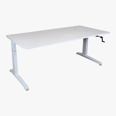 Steelcase Bureautafel Wit 180 x 90 L-Poot