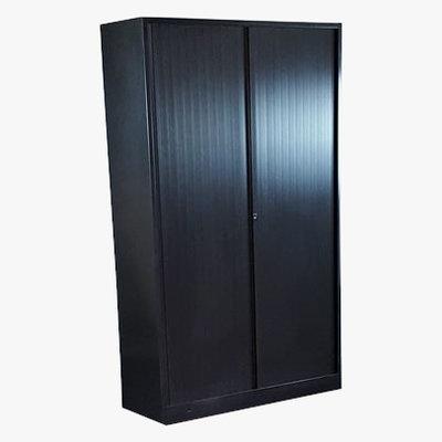Ahrend Roldeurkast Zwart 195 x 120 x 45 4 Legborden