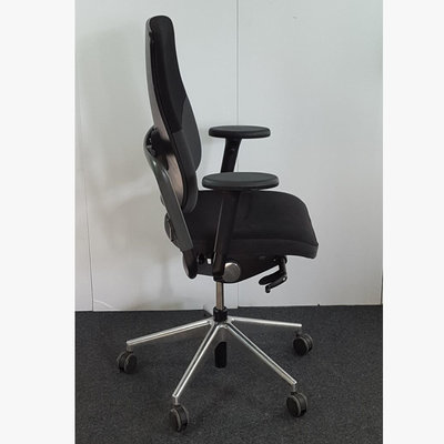 Grahl Xenium Bureaustoel 3D Zwart Chroom NPR1813
