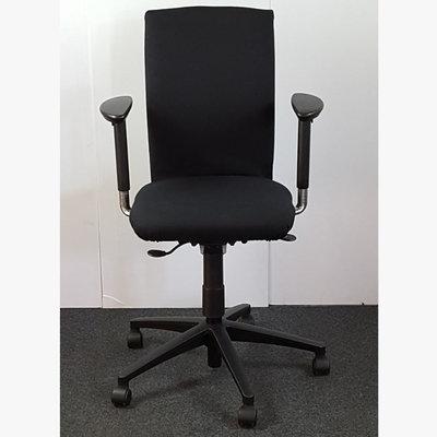 Aspa Klöber Bureaustoel Zwart Nieuwe Stof
