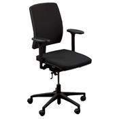 Drisag Bureaustoel Zwart Zwart