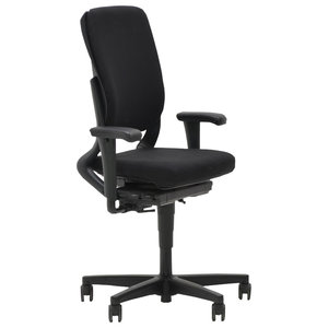 Ahrend 230 Bureaustoel Hoge Rug Zwart