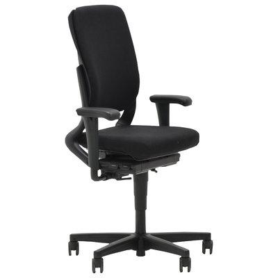 Ahrend 230 Bureaustoel Hoge Rug Zwart Zwart Voetkruis 4D Armleggers