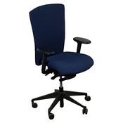 Rovo Bureaustoel Donkerblauw Zwart