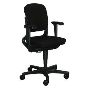Ahrend 230 Bureaustoel Zwart Zwart