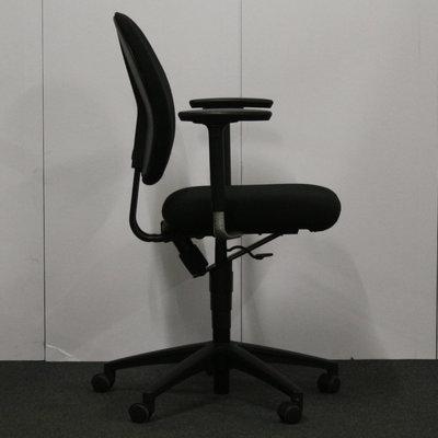 Bureaustoel Zwart Zwart
