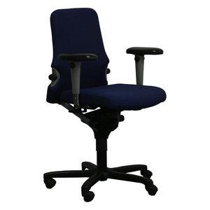 Comforto D7783 S11 Bureaustoel Blauw Zwart