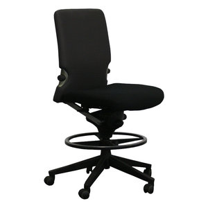 Comforto Werkstoel Zwart Grijs Tempur