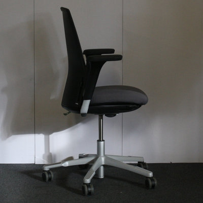 HAG Futu Bureaustoel Antraciet Lichtgrijs Netweave