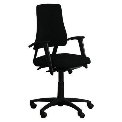 BMA Axia Office Bureaustoel Zwart Nieuwe Stoffering