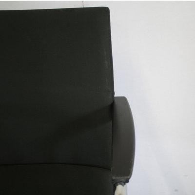 Comforto D5588 Vergaderstoel Zwart Chroom - Set van 3