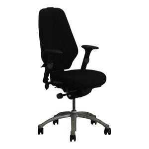 RH Logic 400 Bureaustoel Zwart Grijs