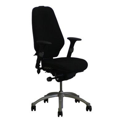 RH Logic 400 Bureaustoel Zwart Lichtgrijs