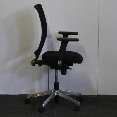 Wiesner Hager Bureaustoel Zwart Netweave