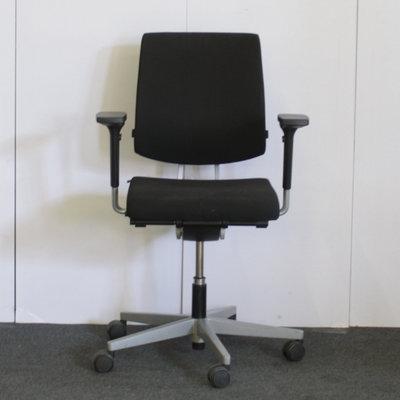 Sedus Black Dot Bureaustoel Zwart Lichtgrijs 4D Arm