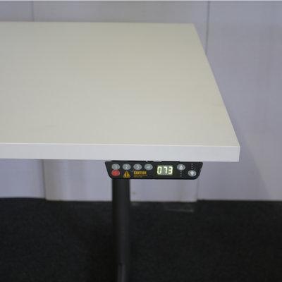 Ahrend 500 Elektrisch Bureau Antraciet Wit 160 x 80