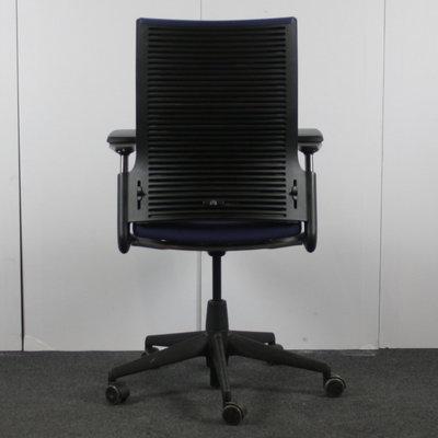 Ahrend 2020 Bureaustoel Blauw Zwart NPR1813
