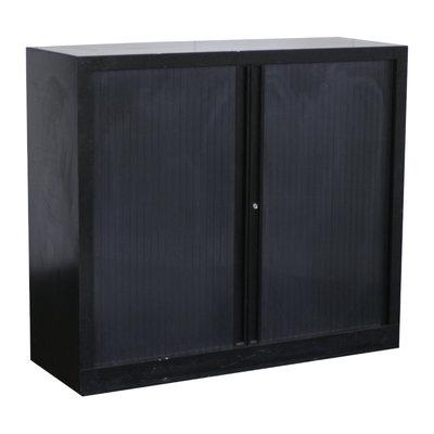 Roldeurkast Zwart Zwart 105 x 120 x 43