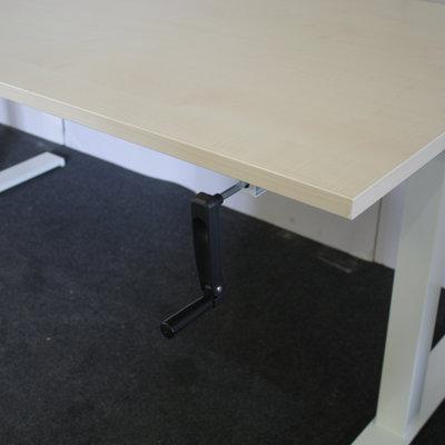 Schaffenburg Fast Slinger Zit Sta Bureau Wit Ahorn 160 x 80