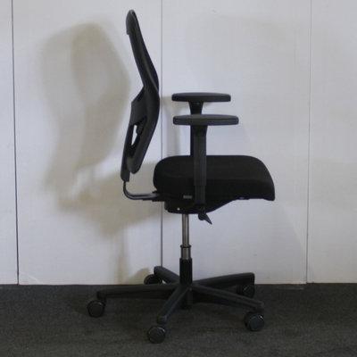 Ahrend 160 Bureaustoel Zwart Zwart Netweave