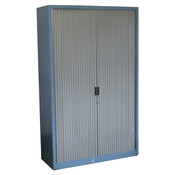 Aspa Roldeurkast Blauw Grijs 195 x 120 x 47 B-keus