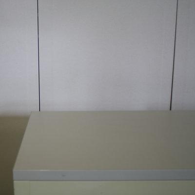 Lensvelt Roldeurkast Crème Lichtgrijs 76 x 120 x 45