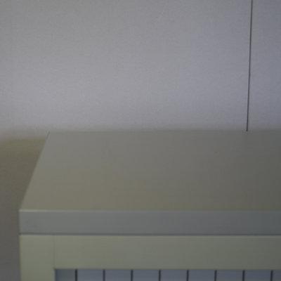 Lensvelt Roldeurkast Crème Lichtgrijs 139 x 120 x 45