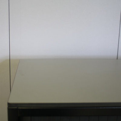 Ahrend Roldeurkast Zwart Antraciet Lichtgrijs 139 x 120 x 45