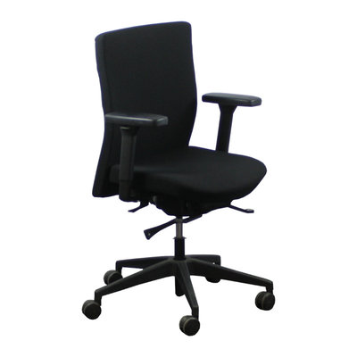 Interstuhl 1A22X Bureaustoel Zwart Zwart