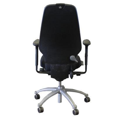 RH Logic Refurbished 400 Bureaustoel Zwart Lichtgrijs