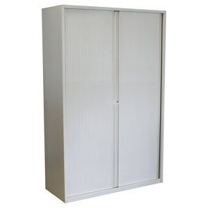 Roldeurkast Wit Wit 195 x 125 x 50 B-Keus