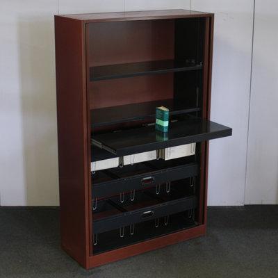 Ahrend Roldeurkast Cognac Bruin 195 x 120 x 45