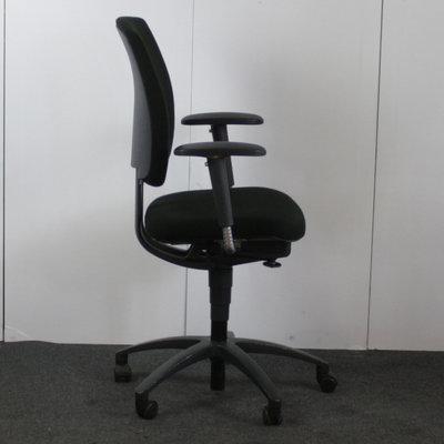 Drabert Entrada bureaustoel Zwart Antraciet