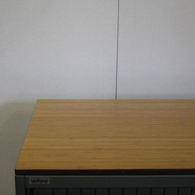 Ahrend Roldeurkast Antraciet Beuken 73 x 80 x 45