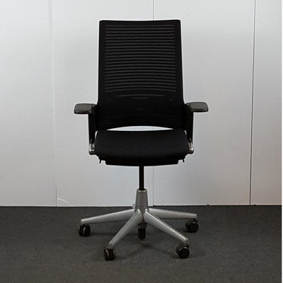 Ahrend 2020 Bureaustoel Zwart Lichtgrijs NPR1813