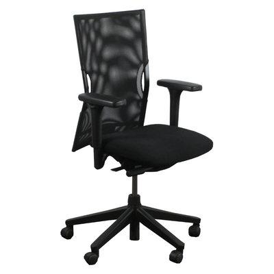 Comforto D5565 Bureaustoel Zwart Zwart Netweave