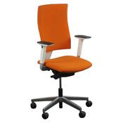 Nowy Styl Monter Bureaustoel Oranje Chroom