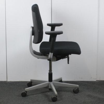 Sedus Black Dot Bureaustoel Zwart Lichtgrijs Nieuwe Stof