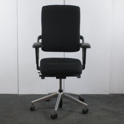 Grahl Xenium Bureaustoel 4D Zwart Chroom Nieuw Gestoffeerd Brede Arm