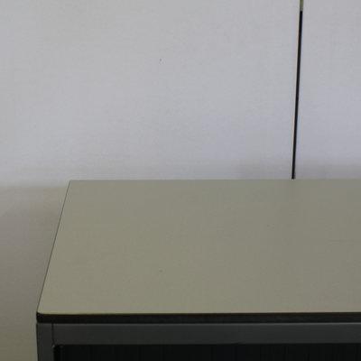 Ahrend Roldeurkast Antraciet Zwart Lichtgrijs 74 x 80 x 45