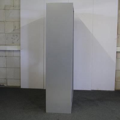 Roldeurkast Zilvergrijs Zilvergrijs 195 x 120 x 46