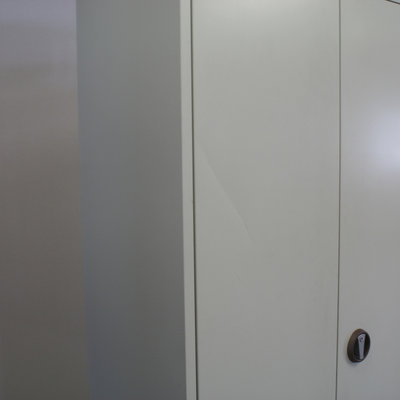 Ronis Draaideurkast Lichtgrijs 195 x 95 x 41 B-Keus